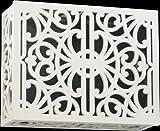 Quorum 7-115-08 Accessory - Door Chime Grille, Studio White Finish