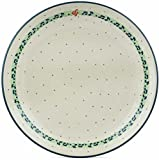 Polish Pottery 10½-inch Dinner Plate made by Ceramika Artystyczna (Musical Dance Theme) + Certificate of Authenticity