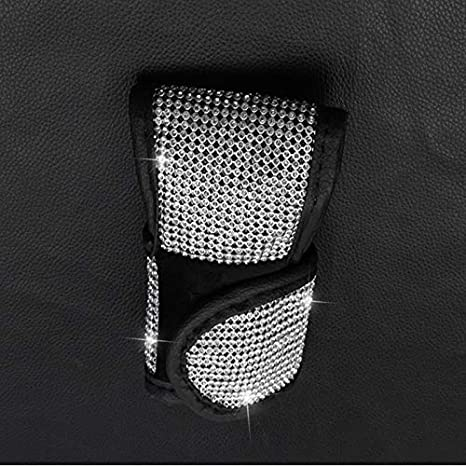 Handle Cover Luster Crystal Car Protective Handle Cover Diamond Car Decor Accessories Iycorish Auto Safety Door Handle Cover