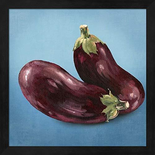 Metaverse Asia Jensen 'Eggplant' Framed Art ()