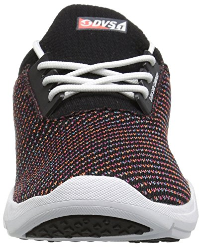 WOS Lt Multi Women's Tweed Cinch DVS Shoes Skate Shoe Black IfqwtARn