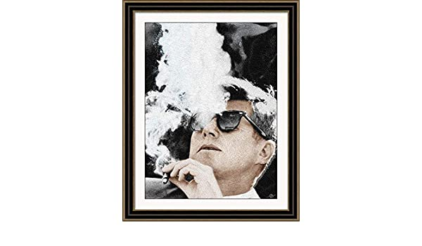 188a117358 Tony Rubino. JFK Cigar And Sunglasses - 16 X 24