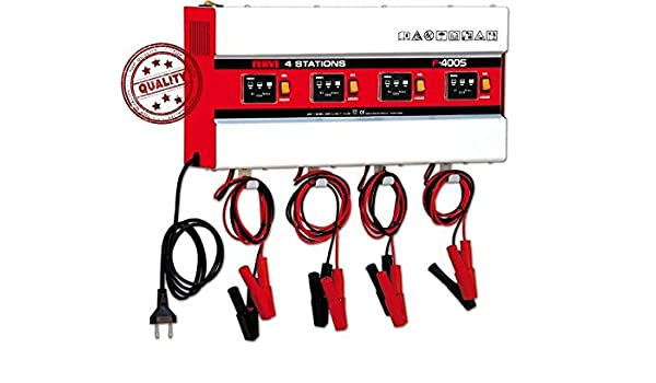 Ferve Cargador baterias automatico 30 60Ah 4x5A F4005 ...