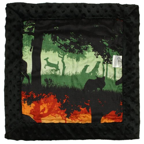 Nicki's Diapers Cuddle Security Blanket, Into The Woods (16''x16'')