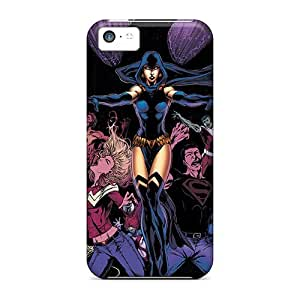 YCYZCZn5763AuZvW Saraumes Awesome Case Cover Compatible With Iphone 5c - Raven I4
