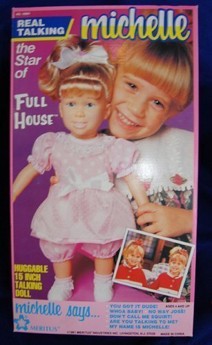 Full House MICHELLE Huggable 15 Inch Talking Doll, Vintage in Box (Michelle Doll)