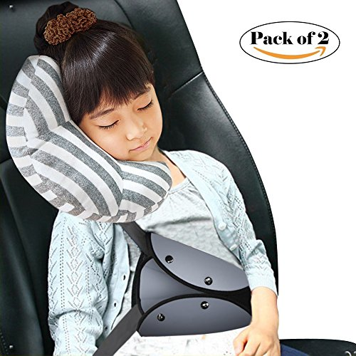 Red For Focus 2 Packs Seatbelt Shoulder Cushion Removable and Washable Car Seat belt Comfort Pads Seatbelt Strap Covers