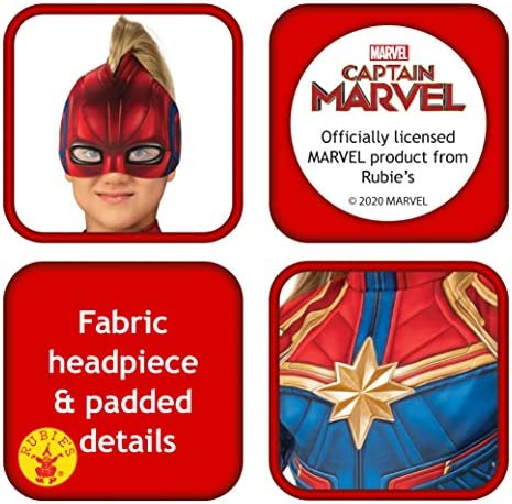 Amazon Com Girls Captain Marvel Hero Suit Deluxe Superhero Costume Toys Games This is rubies captain marvel costume by kidzcoolit on vimeo, the home for high quality videos and the people who love them. girls captain marvel hero suit deluxe superhero costume