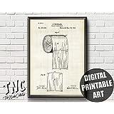 Arvier Toilet Paper Patent Bathroom Patent Toilet Wall Decor Toilet Paper Art Patent Print Toilet Poster Toilet Paper Print Printable Framed Wall Art