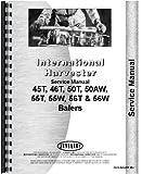 International Harvester 55W Baler Service Manual