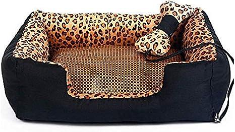 Zenghh Cama for perros lavable super suave for mascotas Gatos Sofá cama, no del resbalón de fondo for mascotas balancín, Sofá Cojín auto calentamiento y una cama for