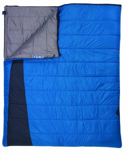 Kelty Callisto 35 Degree Rectangular Synthetic Sleeping Bag, Double, Outdoor Stuffs