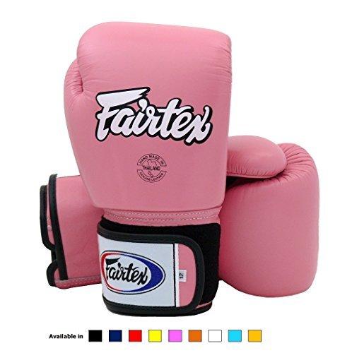 Fairtex Muay Thai Boxing Gloves BGV1 Training & Sparring All Purpose Gloves - Solid Pink 12 -
