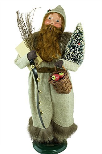 - The Carolers Byers Choice Red Bearded Santa #ZMS264 - Signed by Joyce Byers - Limited Edition!