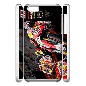 iphone6 Plus 5.5 3D Cell Phone Case White Marc Marquez Plastic Durable Cover Cases derf6975405