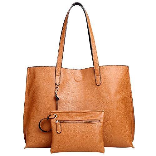 Women Tote Bag,Oversized Reversible Versatile Staple Lady Shoulder Bag Large Purse Commuter Bag