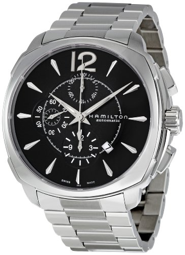 Hamilton Men's H36516135 American Classic Jazzmaster Black Dial Watch