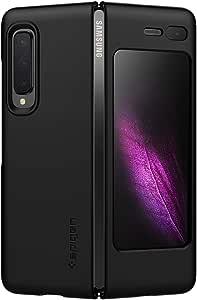 Spigen Thin Fit Designed for Samsung Galaxy Fold Case (2019) - Matte Black