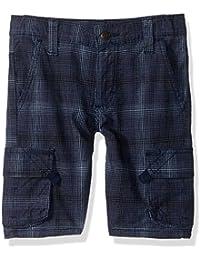 Boys' Fashion Plaid Cargo Short