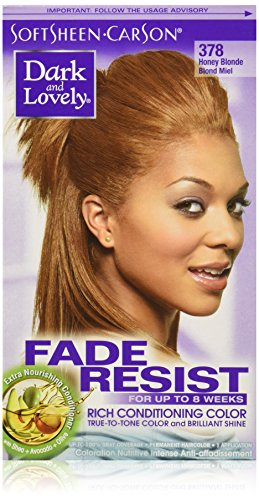 SoftSheen-Carson Dark and Lovely Fade Resist Rich Conditioning Color, Honey (Honey Blonde Hair Color)