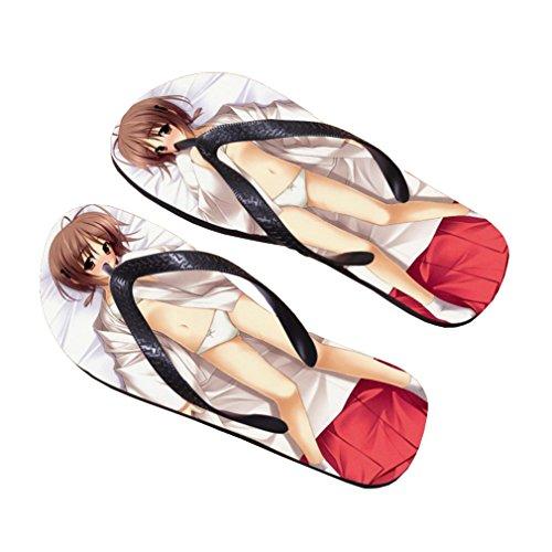 Bromeo Yosuga no Sora Anime Unisex Flip Flops Chanclas 769