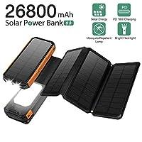 Panergy Solar Charger 26800mAh,Portable ...
