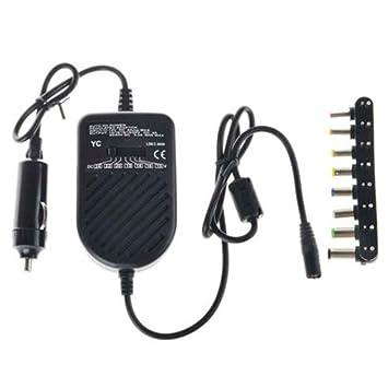Topker 80W DC Cargador de Coche Adaptador del Ordenador portátil Ajustable para portátil LED Auto Fuente de alimentación 8 Desmontable Cargador Enchufes de ...