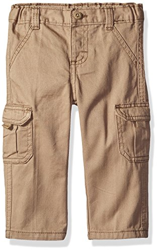 Wrangler Authentics Infant & Toddler Boys' Cargo Pant, New Khaki, 3T ()