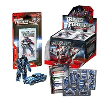 Amazon.com: Transformers 3D Battle-Card Game Pack: Toys & Games