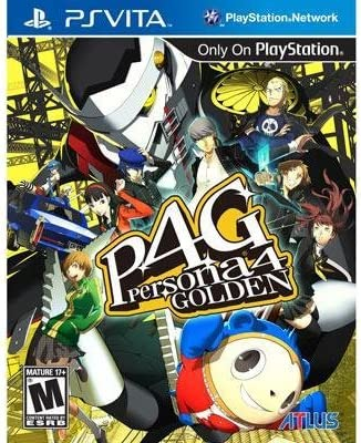Image result for persona 4 golden ps vita boxart