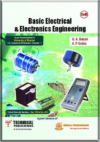 Basic Electronics Engineering By U A Bakshi A P Godse Pdf