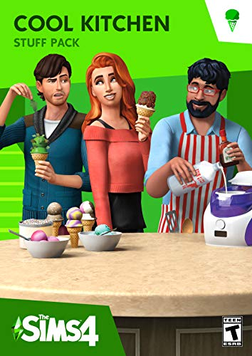(The Sims 4 Cool Kitchen Stuff [Online Game Code])