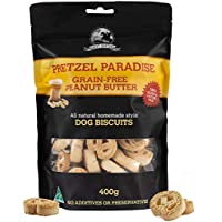 Grain Free Peanut Butter - 400g - Dog Biscuit Treats