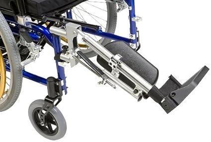 Drive Medical ELR003R Premium - Elevador de piernas para silla de ruedas (pierna derecha)