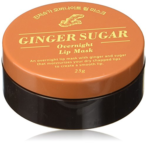 Aritaum Ginger Sugar Overnight Lip Mask, 0.3 Ounce (Lip Plumping Stain)