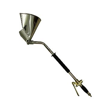 61x13,5cm Blesiya M/örtel Zement Trichterpistole Spritzpistole Putzpistole Spritzger/ät Malwerkzeug 4 D/üsen
