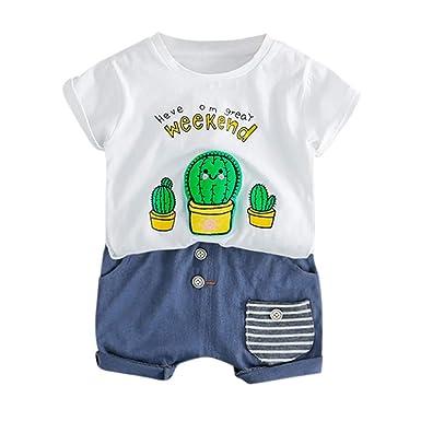 Soupliebe Niño bebé niños niñas Traje de bebé de Moda Suéter ...