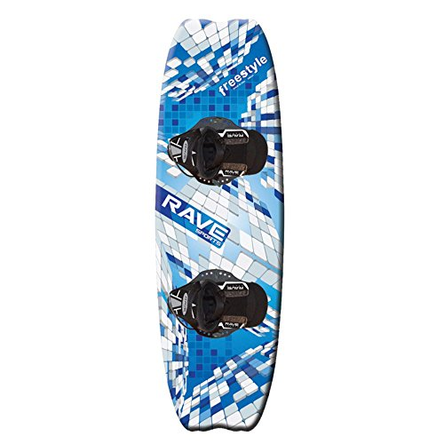 Rave Freestyle Wakeboard with Striker Bindings - 139 cm.