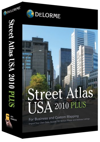Cheapest Prices! DeLorme Street Atlas USA 2010 Plus [OLD VERSION]