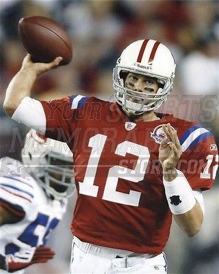 reputable site b4739 885e7 Amazon.com: Tom Brady New England Patriots throwback jersey ...