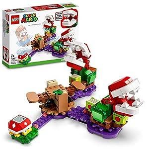 LEGO Super Mario La Sfida Rompicapo della Pianta Piranha - Pack di Espansione, Playset da Collezione con Koopistrice…  LEGO