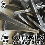 (100) 1.5'' COMMON CUT Nails-Antique Style
