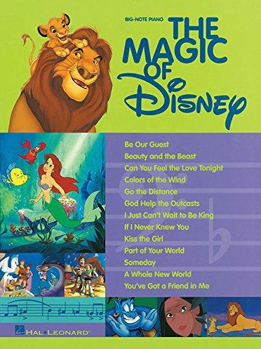 - The Magic of Disney (Big-Note Piano)