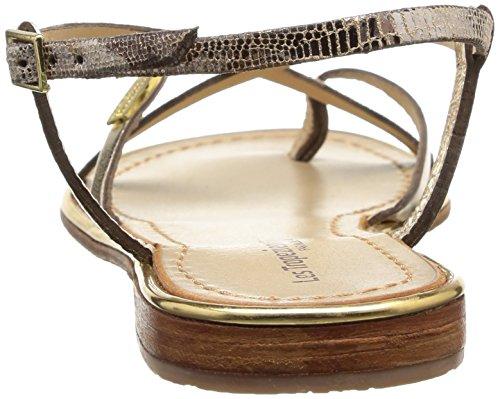 Les Tropéziennes Par M. De Tropéziennes Efter M. Belarbi Monaco C04169, Dame Sandalen Gold (or/serpent) Belarbi Monaco C04169, Dame Sandalen Guld (guld / Slange)