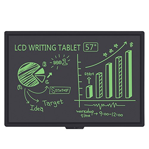 The biggest LCD Writing Tablet Electronic Bulletin Boards 57-Inches Screen(TenQ-Q2)-Paperless Digital Write / Drawing Tool for keeping events in Home, School or Office