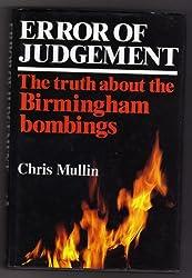 Error of Judgement: The Birmingham Bombings