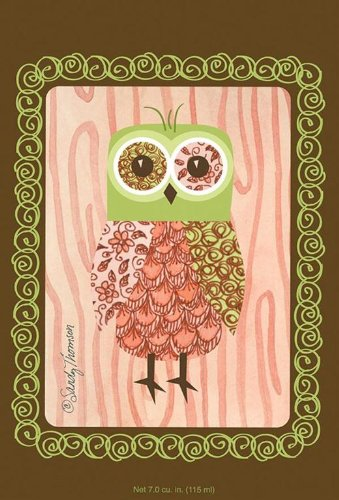 Willowbrook Fresh Scents Scented Sachet - Pink Owl Pack of 6 (Owl Trash Can Bathroom)