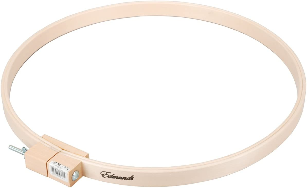 Edmunds 14-inch Round Wood Quilt Hoop,5596 Frank A