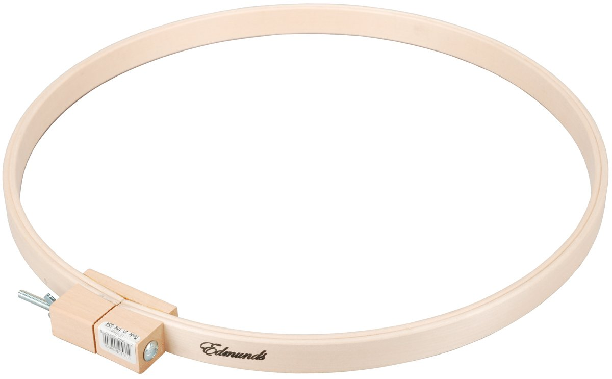 Edmunds 12-inch Round Wood Quilt Hoop,5588 Frank A