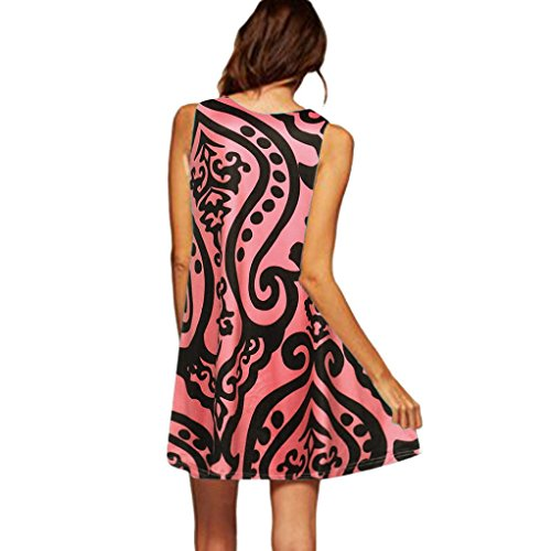 Plage sans Femme Soire Mini Tunique Courte de Crayon Manche Casual Robe Maxi Robe Impression de Jupon Robe Covermason 22 Robe t 74gx4z1